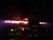 Quảng Nam: Chợ Thanh Quýt bất ngờ bốc cháy dữ dội trong đêm
