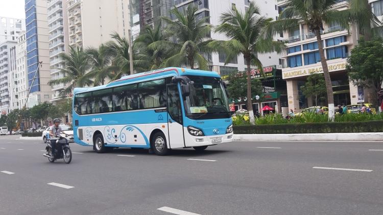 Đà Nẵng: Xe du lịch, xe hợp đồng, taxi được phép vận chuyển 50% số lượng khách từ 23/4