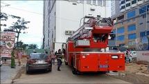 Đà Nẵng: Cháy chung cư cao cấp, người dân tháo chạy ra ngoài