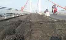Đà Nẵng: Sửa chữa mặt đường cầu Thuận Phước, cấm xe tải trên 1 tấn lưu thông