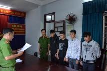 Khởi tố, bắt tạm giam 4 sinh viên cướp tài sản của công an phường