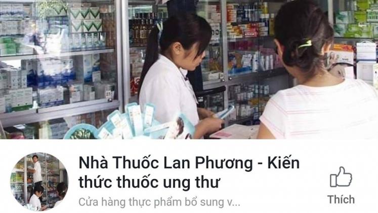 thuoc chua ung thu phoi ban tran lan tren mang chua duoc cap phep