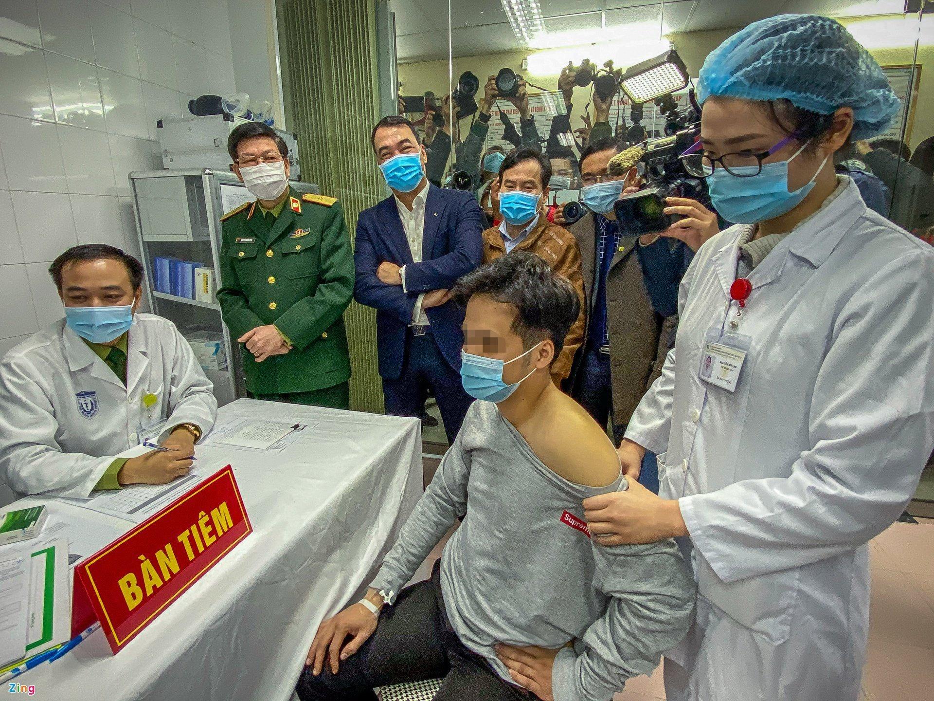 Tiem thu nghiem vaccine Covid-19 cua Viet Nam anh 1