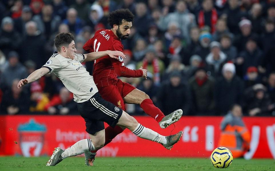 """Vòng 19 Ngoại hạng Anh giữa Liverpool - Man United: Anfield """"rực lửa"""""""