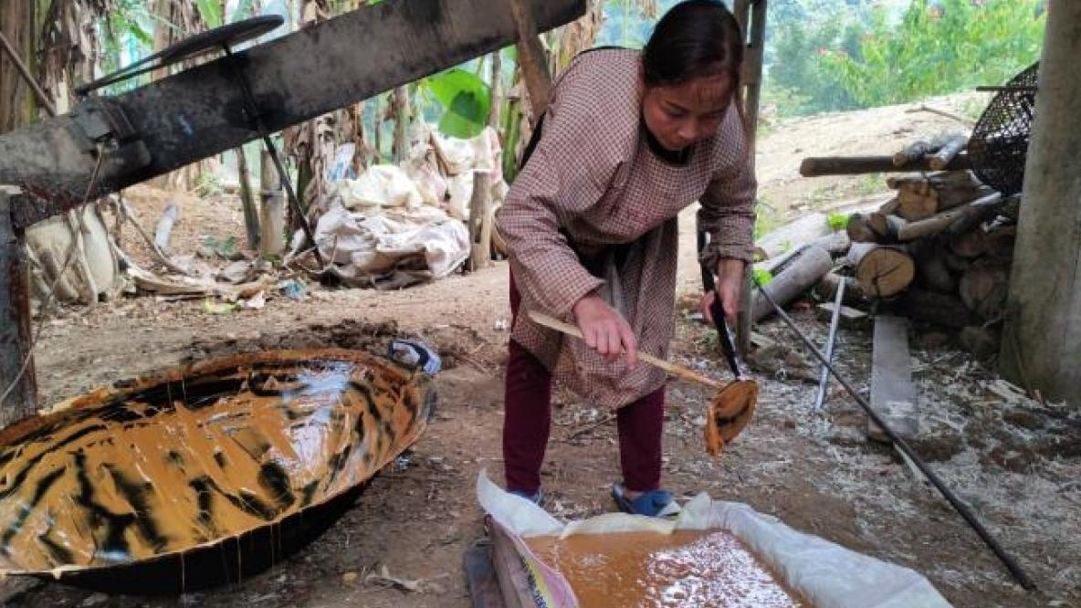 Nhộn nhịp nghề làm đường phên truyền thống Cao Bằng