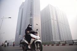 Hà Nội kết thúc đợt rét, ô nhiễm không khí tăng vọt