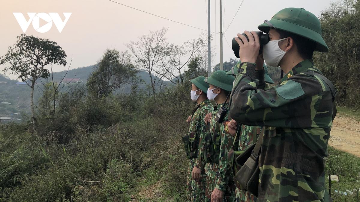 Tăng cường tuần tra, kiểm soát đảm bảo an ninh biên giới dịp Đại hội Đảng