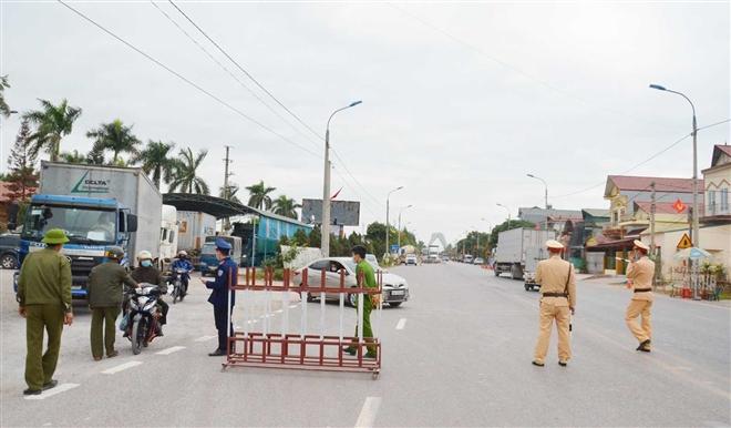 Quảng Ninh phong tỏa xã Bình Dương thuộc thị xã Đông Triều từ 12h hôm nay - 1