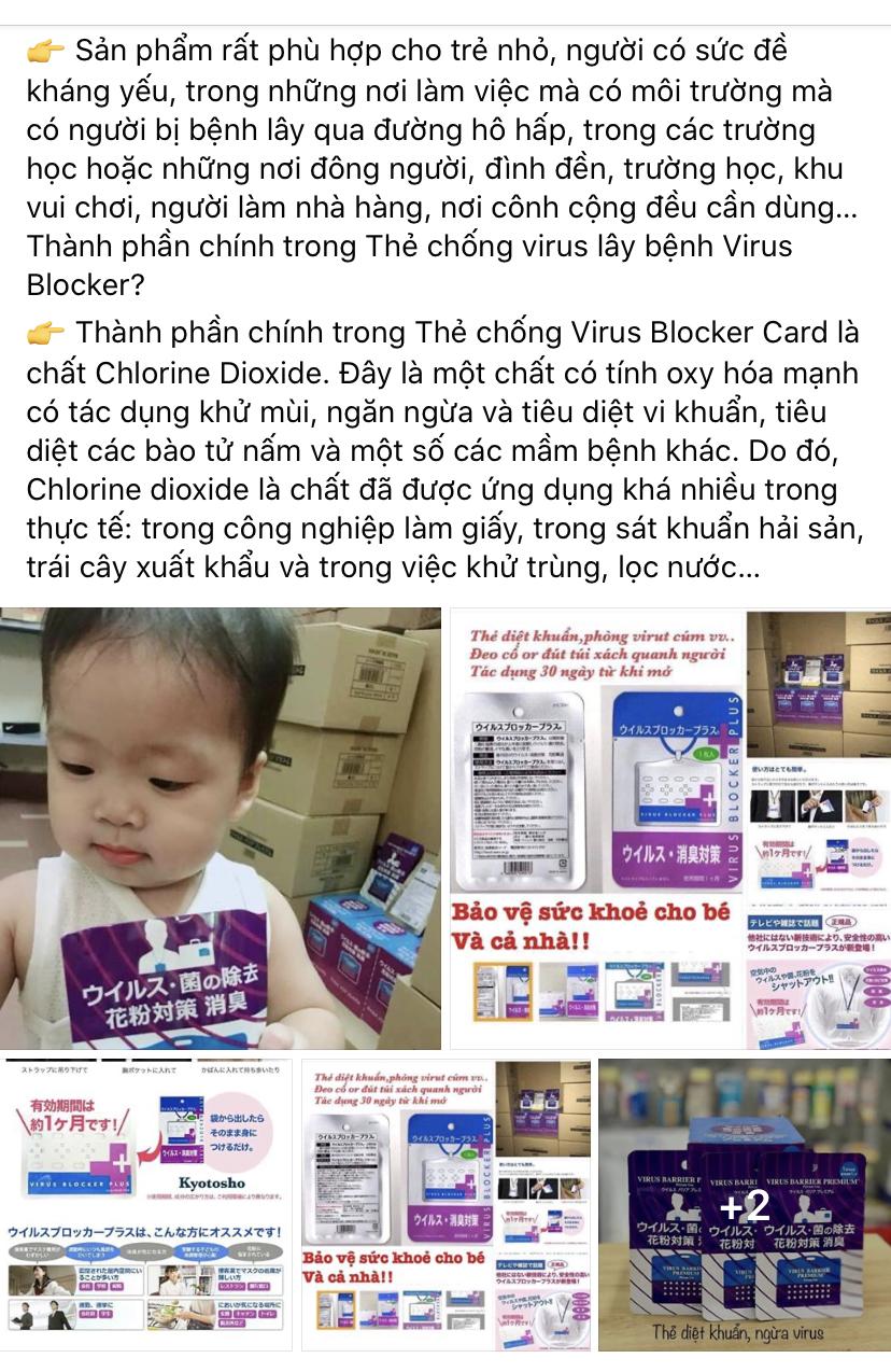 Đổ xô đi mua thẻ kháng khuẩn, bùa tránh virus corona nCoV