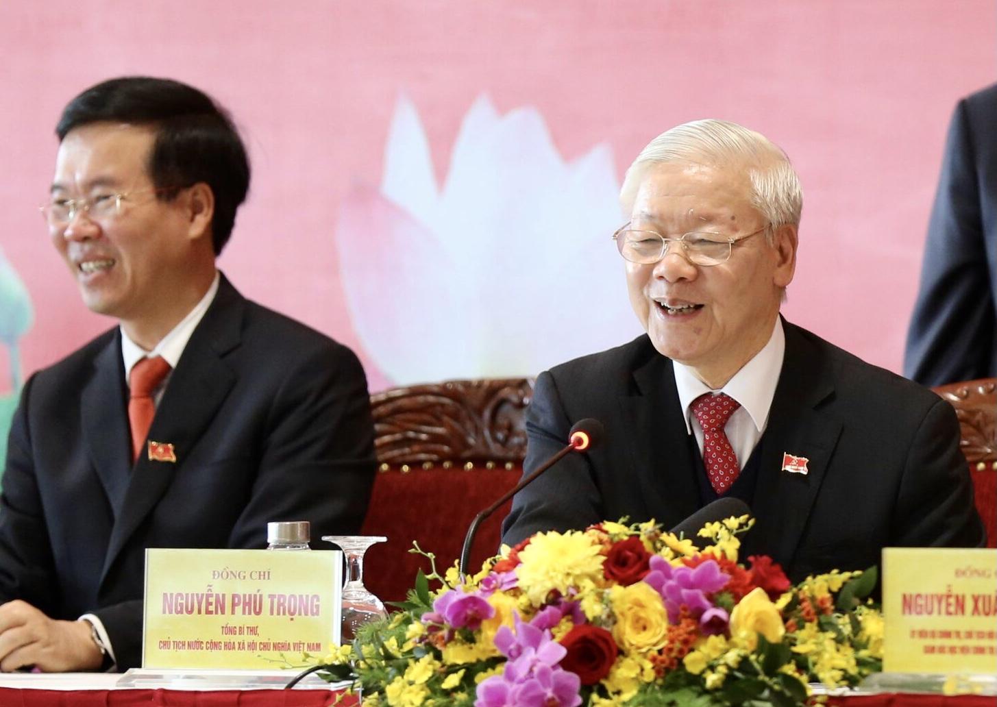 Tổng Bí thư, Chủ tịch nước Nguyễn Phú Trọng: Đại hội XIII thành công rất tốt đẹp
