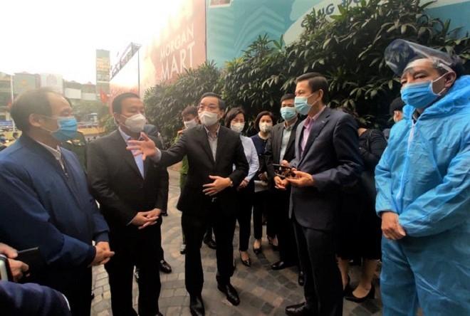 Hà Nội kêu gọi hơn 300 người ở tòa chung cư 88 Láng Hạ về xét nghiệm COVID-19