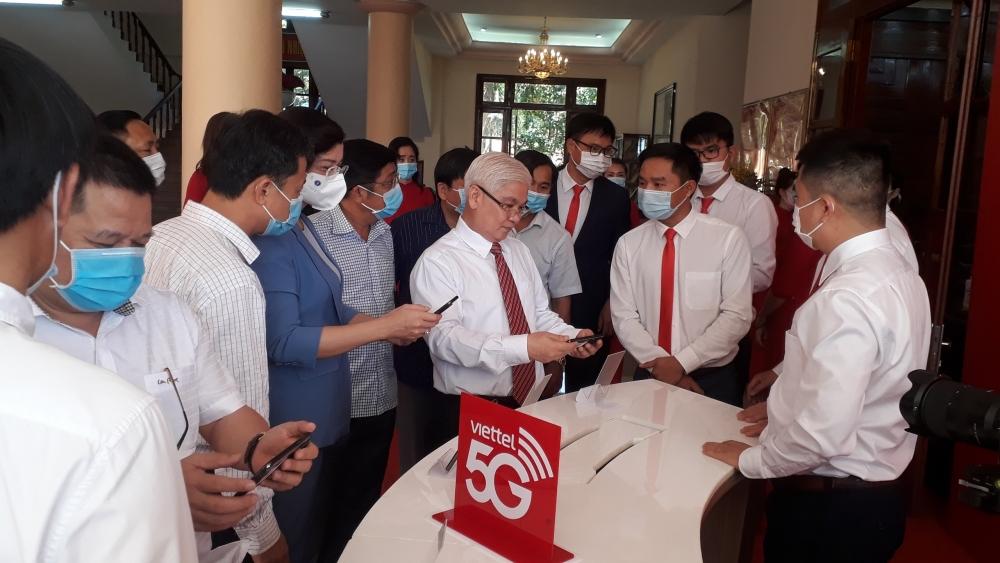 Viettel chính thức khai trương mạng 5G tại tỉnh Bình Phước