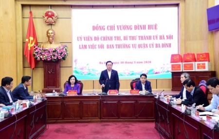 Hướng tới Đại hội Đảng bộ TP Hà Nội lần thứ XVII