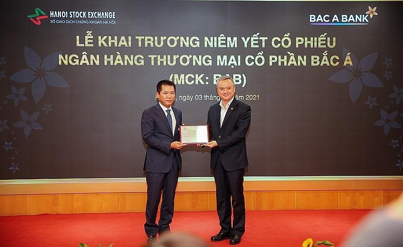 BAC A BANK chính thức niêm yết trên sàn HNX