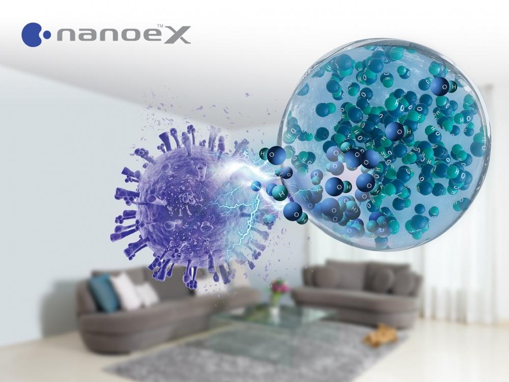 Phát triển công nghệ ức chế virus SARS-CoV-2 trong không gian kín