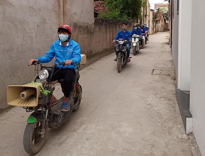 bac giang xu phat 110 truong hop khong deo khau trang
