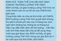 truong khong thu hoc phi 3 thang vay ngan hang tra luong cho giao vien