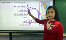 Thầy cô sáng tạo khi dạy online