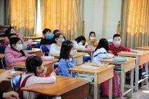 Hà Nội đề xuất tăng sĩ số trong lớp khi học sinh trở lại trường