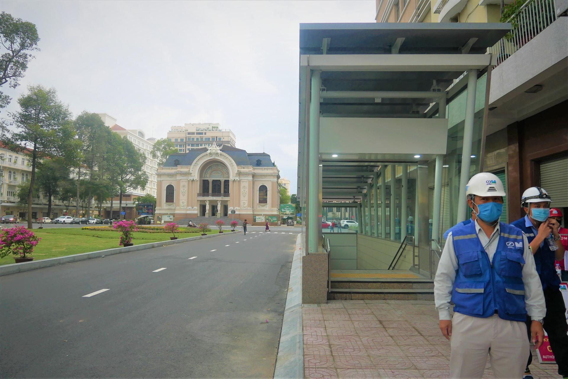 Tuyến metro số 1 TPHCM đang tiến gần tới đích