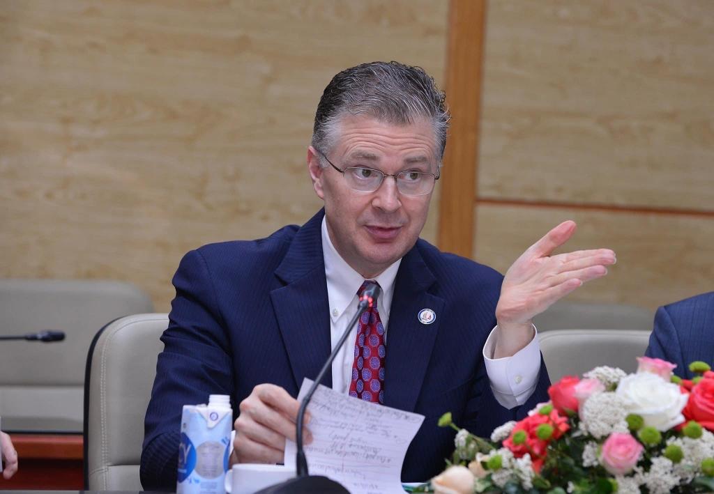 Đại sứ Hoa Kỳ Daniel J. Kritenbrink đánh giá cao hiệu quả phòng chống dịch Covid-19 của Việt Nam