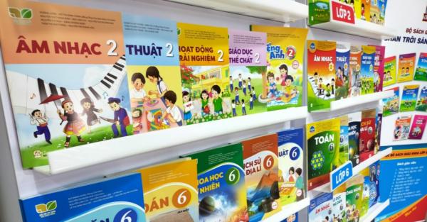 Nhà xuất bản Giáo dục công bố giá sách giáo khoa lớp 2, lớp 6