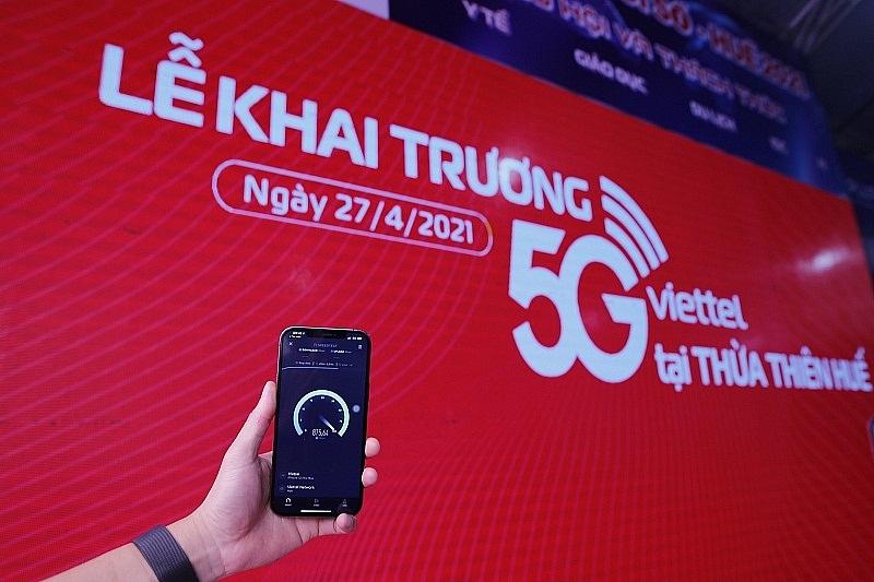 Viettel khai trương mạng 5G tại Thừa Thiên Huế, cung cấp 5G trên iPhone