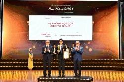 Viettel dẫn đầu giải thưởng Sao Khuê bằng các sản phẩm chủ lực xây dựng xã hội số