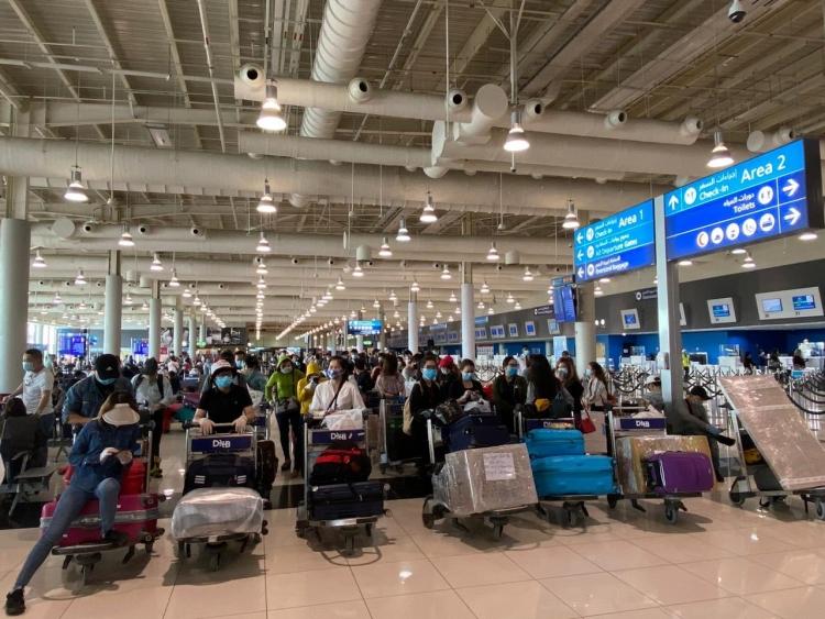 Đưa gần 300 công dân từ UAE về nước