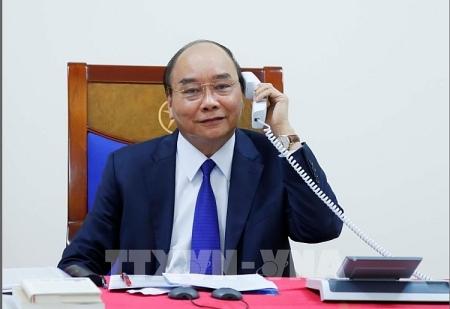 thu tuong nguyen xuan phuc dien dam voi tong thong my donald trump