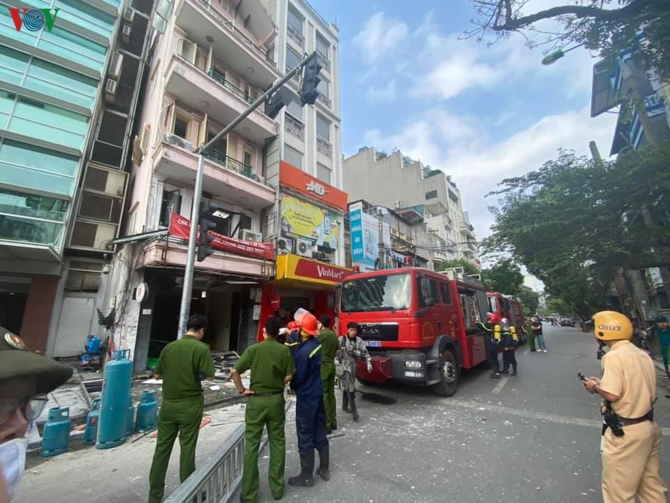 Xác định nguyên nhân gây ra vụ nổ trên phố Cửa Nam, Hà Nội