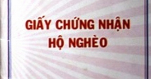 vo con can bo trong danh sach ho can ngheo