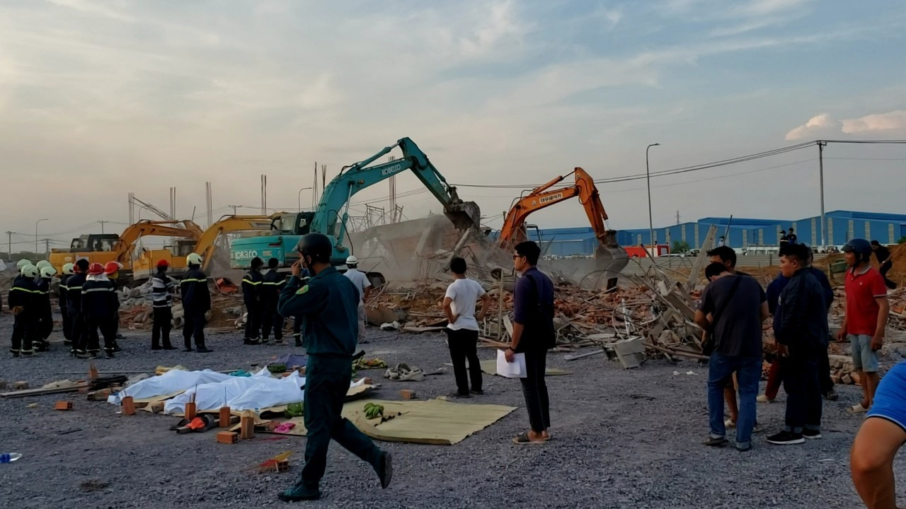 Danh tính 10 nạn nhân tử vong trong vụ sập công trình ở Đồng Nai