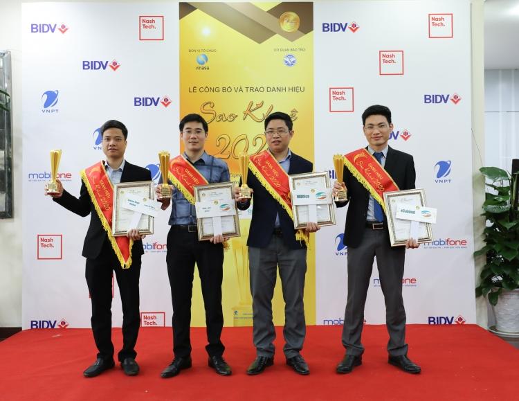 Sao Khuê 2020: Viettel vững ngôi đầu với 21 sản phẩm đạt giải