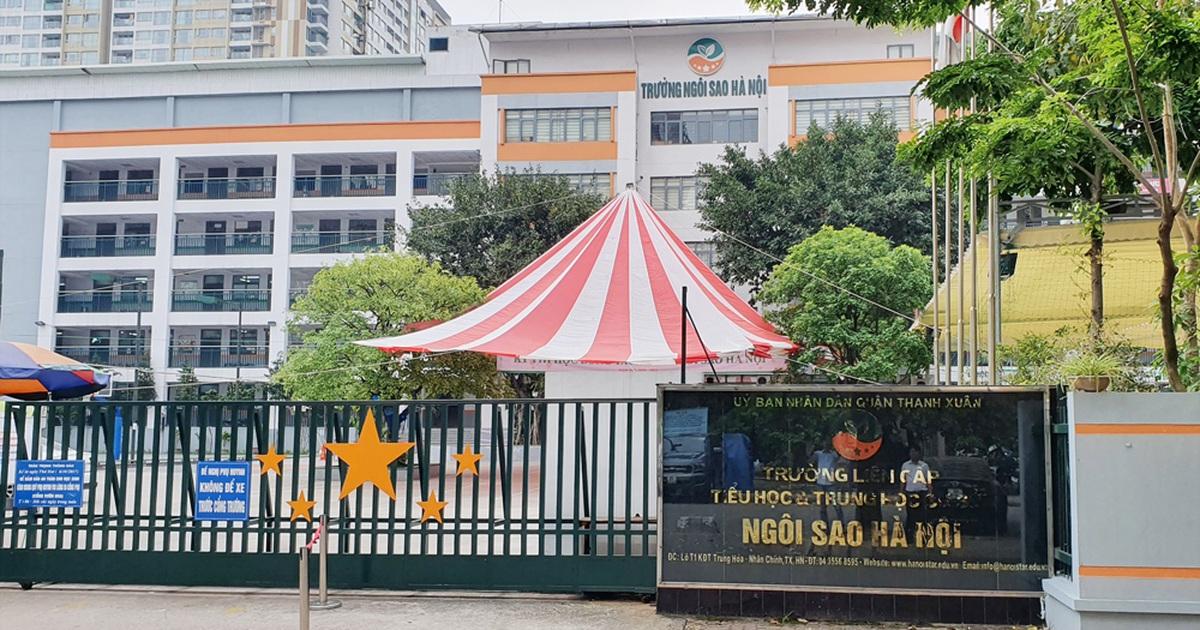 truong lien cap ngoi sao van thu hoc phi trong thoi gian khong day online