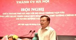 Bí thư Thành ủy Hà Nội Đinh Tiến Dũng: Quyết tâm mở không gian phát triển mới cho vùng Thủ đô