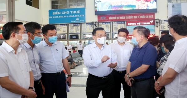 Chủ tịch UBND TP Chu Ngọc Anh giữ chức Trưởng ban Chỉ đạo công tác phòng, chống dịch bệnh Covid-19 TP Hà Nội
