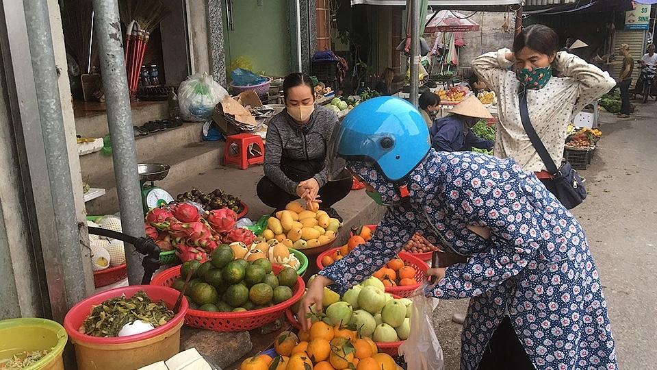 Nghiêm túc thực hiện các biện pháp phòng, chống dịch Covid-19 tại chợ dân sinh
