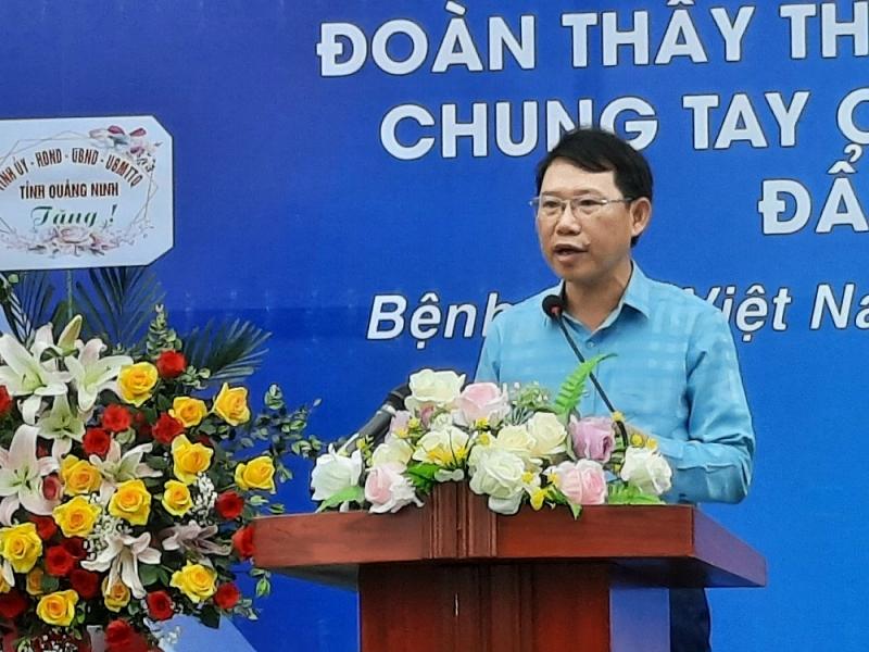200 y bác sĩ Quảng Ninh lên đường sang Bắc Giang hỗ trợ chống dịch