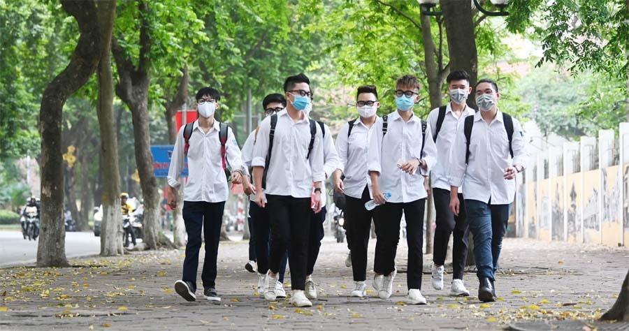 Học sinh Hà Nội được khuyến cáo chỉ ra khỏi nhà khi có việc thật cần thiết