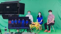 Thành đoàn Hà Nội ứng dụng công nghệ trực tuyến trong công tác tuyên truyền bầu cử và phòng chống dịch Covid-19.