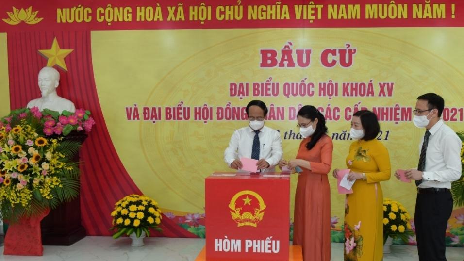 Phó Thủ tướng Chính phủ Lê Văn Thành: Cử tri sẽ sáng suốt bầu ra những người tiêu biểu nhất