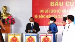 Không khí nhộn nhịp ngày bầu cử tại thành phố mang tên Bác