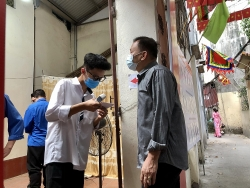 Hà Nội: Cử tri phường Thịnh Liệt hân hoan đi bầu cử