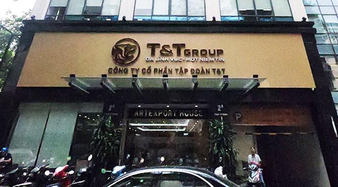 Phong tỏa tạm thời tòa nhà Công ty T&T 2A phố Phạm Sư Mạnh (quận Hoàn Kiếm)