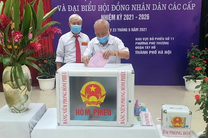 Hà Nội: 99,13% cử tri đã đi bỏ phiếu trong ngày bầu cử