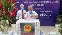 99,13% cử tri Hà Nội đã đi bỏ phiếu trong ngày bầu cử