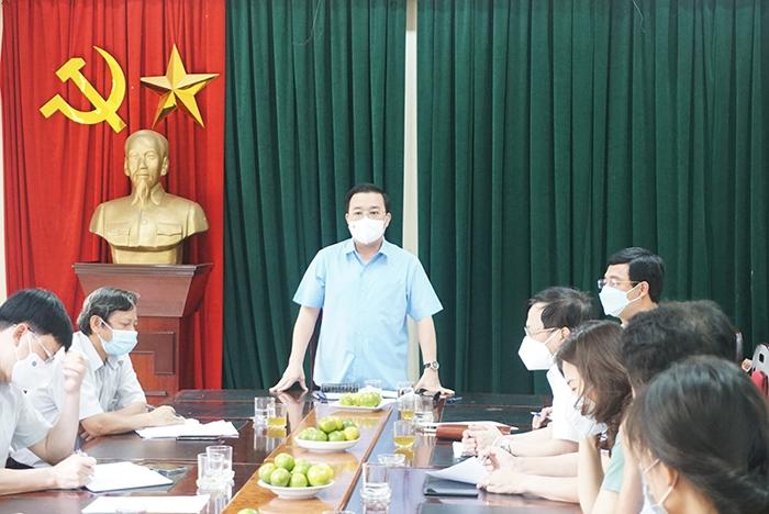 Phó Chủ tịch UBND TP Chử Xuân Dũng kết luận tại buổi kiểm tra