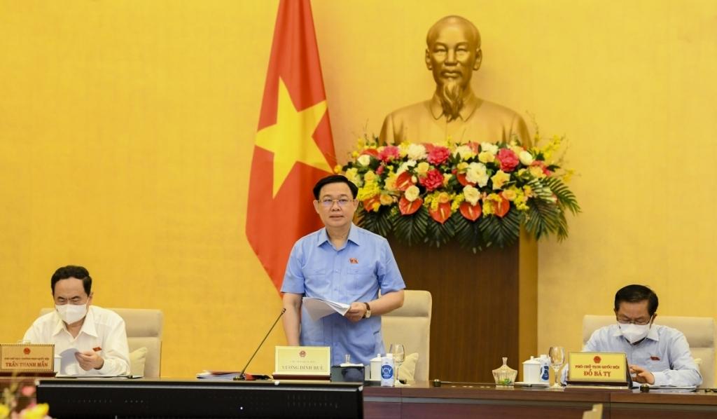 Chủ tịch Quốc hội: Xem xét sơ bộ kết quả bầu cử để tổ chức các bước tiếp theo