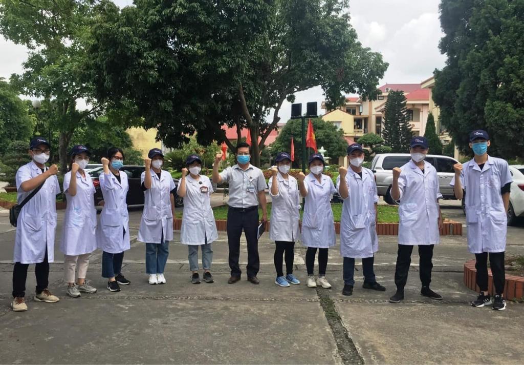 Phát huy sức trẻ sinh viên Đại học Y Hà Nội xông pha đến tuyến đầu chống dịch Covid-19